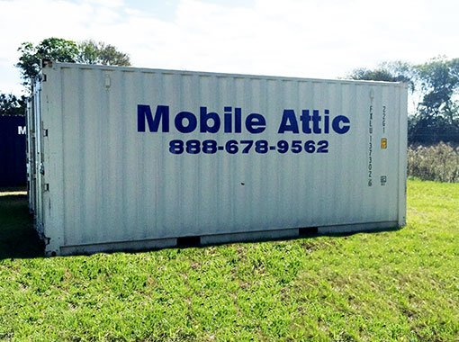 Commercial container rental the mobile attic dothan for Outside storage units for sale