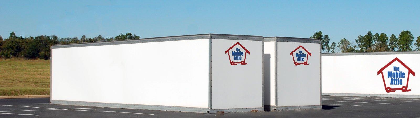 Door To Door Portable Storage Containers The Mobile Attic