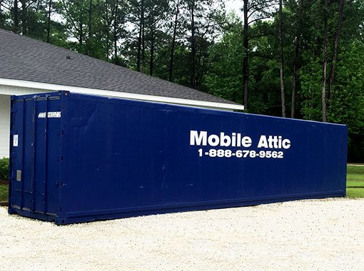 The Mobile Attic Dothan Commercial Steel Container Rental