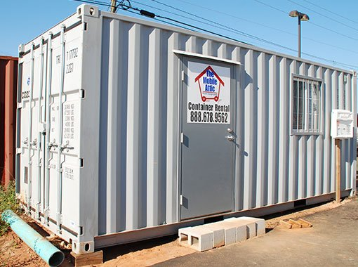 Commercial Container Rental The Mobile Attic Dothan